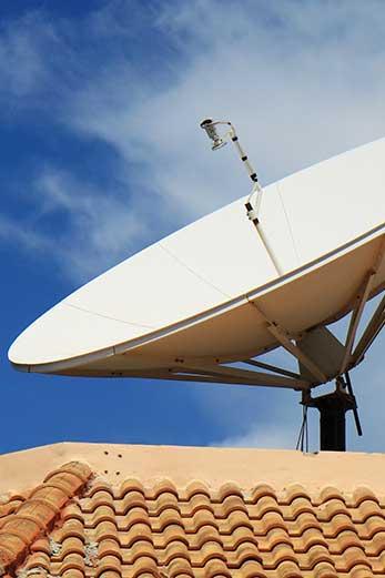 Antenas parabólicas en Madrid