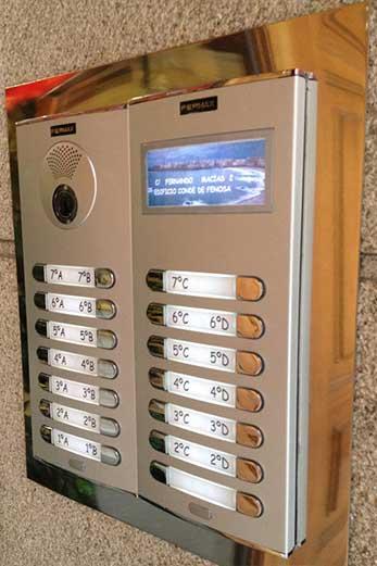 Instalación de videoporteros en Madrid